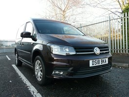 2018 VW Caddy Drive From Wheelchair Accessible Vehicle Disabled Mobility Wav