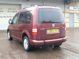 2015 VW Caddy Driver Transfer Wheelchair Accessible Vehicle Mobility Wav